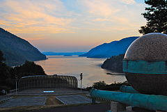 View from Trophy Point, West Point NY, at dawn in the summertime.jpg