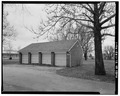 View from north - Chanute Air Force Base, Residential Garage, Senior Officer Row, Rantoul, Champaign County, IL HABS ILL,10-RAN.V,1AH-1.tif