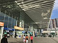 View in front of east entrance of Shenzhen North Station.jpg