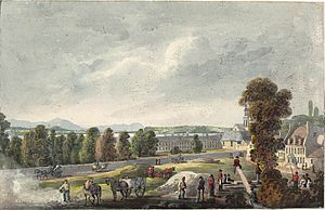 Quebec City - View near the Grand Battery, Quebec, Quebec. By George Heriot, c. 1807.