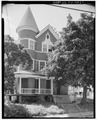 View west, east front elevation - 103-105 Chestnut Avenue (House), Waterbury, New Haven County, CT HABS CONN,5-WATB,20-1.tif