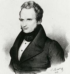 Alfred de Vigny par Antoine Maurin
