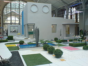 Mon Oncle - A replica of Villa Arpel at the Cent Quatre in Paris