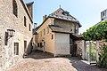 Villach Innenstadt Schanzgasse 3 Stadtmauer und Wehrturm N-Ansicht 02072018 3806.jpg