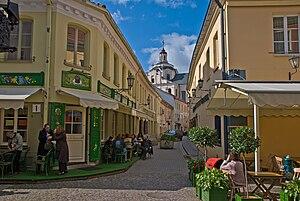 Vilnius Old Town, Lithuania, 14 Sept. 2008