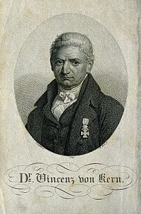 Vincenz Sebastian, Ritter von Kern. Stipple engraving by F. Wellcome V0003211.jpg