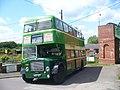 Vintage Bus at Four Marks - geograph.org.uk - 2421437.jpg