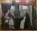 Visita de San Bruno a Urbano II (Francisco de Zurbarán).jpg
