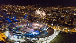 Vista Aerea de la Inauguracion de los Juegos Suramericanos Cochabamba 2018.jpg