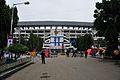 Vivekananda Yuva Bharati Krirangan - Entrance - Salt Lake City - Kolkata 2013-01-03 2586.JPG
