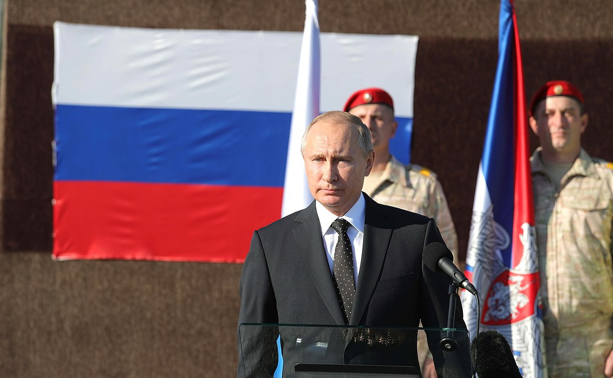 Vladimir Putin in Khmeimim Air Base in Syria (2017-12-11) 20.jpg