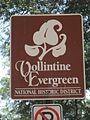 Vollintine Evergreen Memphis TN 02 Faxon Ave sign.jpg