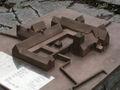 Vreta kloster Model of old monastery.jpg
