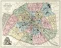 Vuillemin and Migeon, Nouveau plan de Paris en 20 arrondissements, 1869 - David Rumsey.jpg