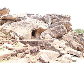 Vyagrah(Tiger) Cave in Udayagiri Caves Complex.jpg