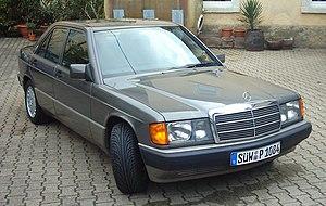 "Bruno Sacco - A Mercedes-Benz 190 (W201), Sacco's ""most significant"" design."