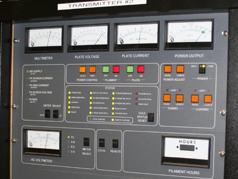 WDET-FM transmitter