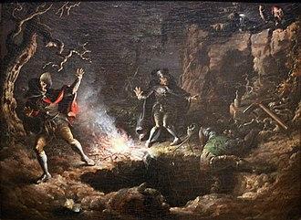 John Quidor - Image: WLA brooklynmuseum John Quidor The Money Diggers 1832