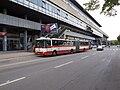 WUCC 2010, Strahov, nástup na bus.jpg