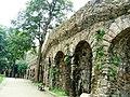Wałbrzych, mury obronne, oporowe i graniczne z basztami, bramami, mostami i tarasami3.JPG