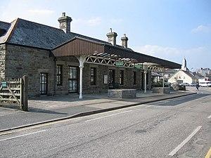 Wadebridge railway station - Image: Wadebridge railway station