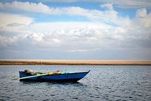 Wadi El Rayan - Wadi El Rayan lake