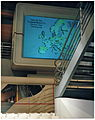Walk-Through Computer - World Traveler software running on giant monitor.jpg
