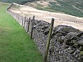 Wall on Ven Law - geograph.org.uk - 234616.jpg