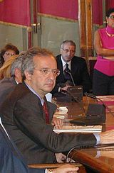 Walter Veltroni al Campidoglio a Roma