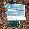 Wanderwegweiser zur Altenberger Pinge 2013.jpg