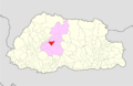 Wangdue Phodrang Bjena Gewog Bhutan location map.png