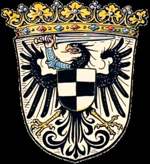 Posen-West Prussia - Image: Wappen Grenzmark Posen Westpreußen