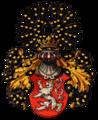 Wappen Königreich Böhmen mit Helmkleinod.png