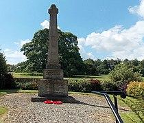 War Memorial Cross, Miserden - geograph.org.uk - 4117818.jpg