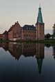 Wasserschloss Raesfeld in der Dämmerung. 01.JPG