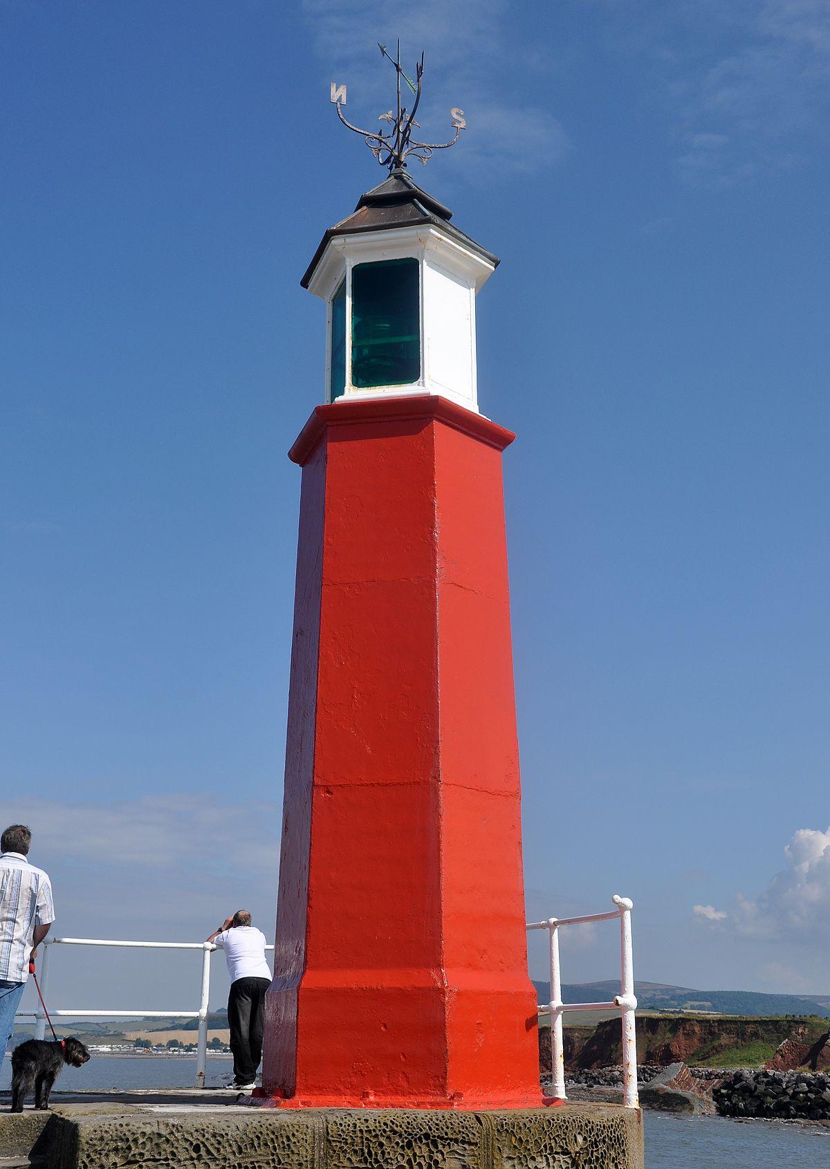 Watchet Harbour Lighthouse Wikipedia