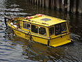 Water Taxi, Leeds and Liverpool Canal, Neville Street, Leeds (19th July 2014).JPG