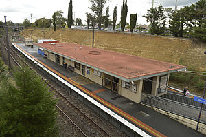 Watsonia railway station - The station in May 2014