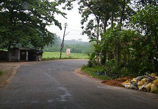 Vakathanam village in Kerala, India