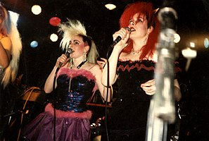 At the Underground, Croydon – 1986