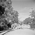 Wegversperring in de Prophetehstraat, op de grens tussen Jordaans en Israëlisch , Bestanddeelnr 255-0330.jpg