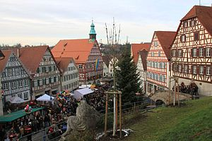Backnang - Christmas market 2010