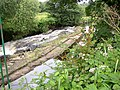 Weir on the River Colne near Ramsden Mills, Golcar - geograph.org.uk - 503288.jpg