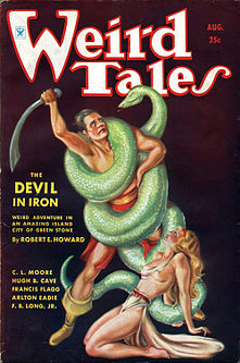 The Devil in Iron Conan novelette by Robert E. Howard