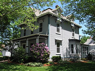 National Register of Historic Places listings in Reading, Massachusetts - Image: Wendell Bancroft House, Reading MA