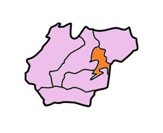 West Khasi Hills district - Image: West Khasi Hills Subdivisions Mawthadraishan