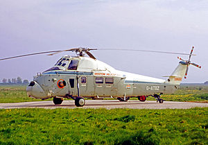 Bristow Helicopters - Westland Wessex 60 helicopter of Bristows in 1970