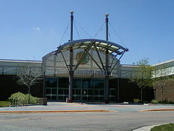 Westminster Mall, Colorado, NE entrance.jpg