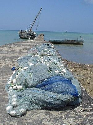 Pemba Island - Image: Wharf at Mkoani. Havenpier in Mkoani, Pemba, Tanzania