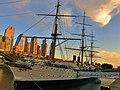 Wharf at Puerto Madero, Buenos Aires, Argentina.jpg